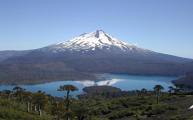 Volcan Llaima Patagonie Argentine