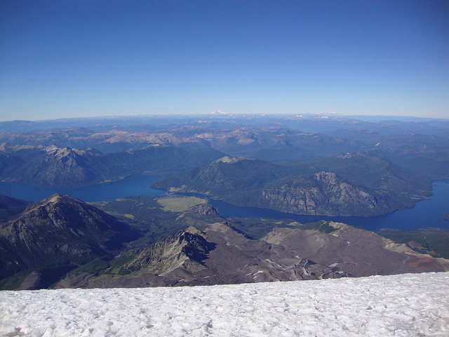 Volcan Lanin Patagonie Argentine