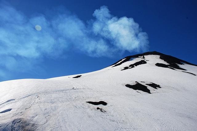 Volcan Villarrica Patagonie Argentine
