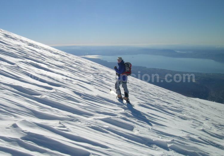 Trekking Volcan Villarrica Patagonie Argentine