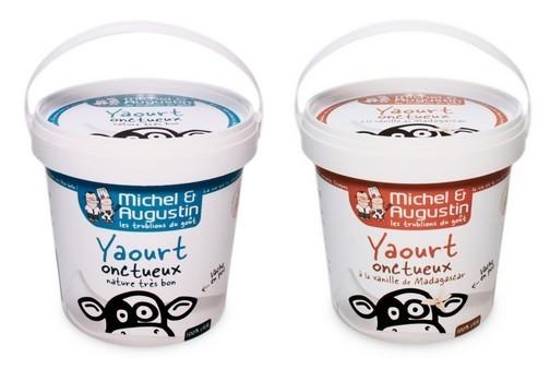 Comment réduire les déchets - pots yaourts Michel et Augustin