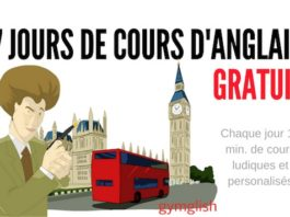 Cours anglais gratuit gymglish