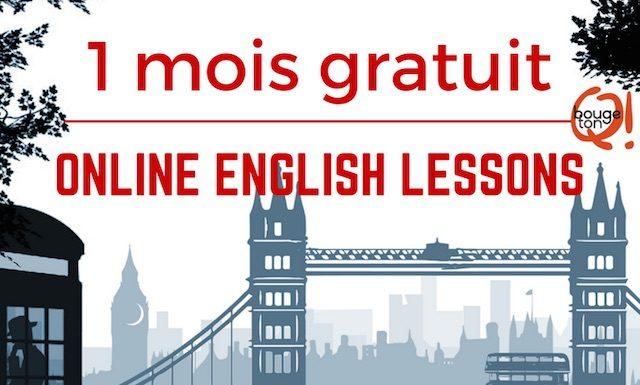 Un mois de cours d'anglais Gymglish