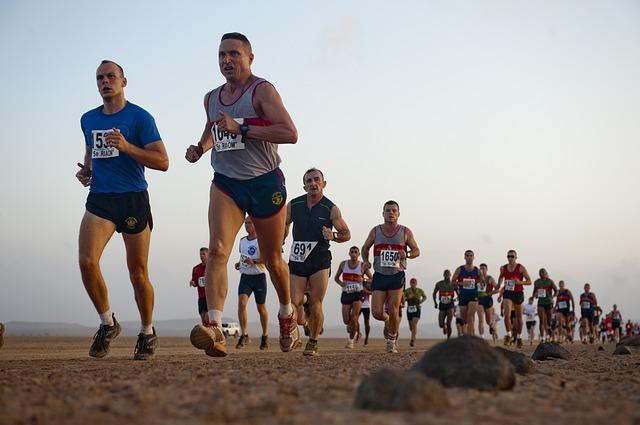 Marathon désert