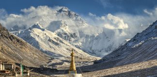 Tibet Mont Everest